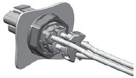 3 Pole Mini PL Spec Pak® Jam Nut Final Assembly Figure 4