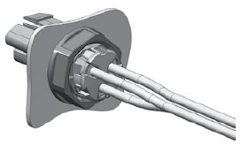3 Pole Mini PL Spec Pak® Jam Nut Final Assembly Figure 5