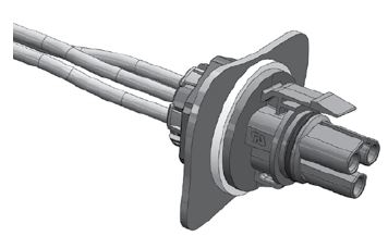 3 Pole Mini PL Spec Pak® Jam Nut Final Assembly Figure 6
